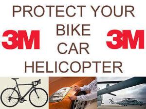 Beskyt din cykel3M Tape