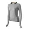 findra tress, cykeltøj, t-shirt, Findra outdoor apparel-T-Shirt Tress Langærmet lysgrå