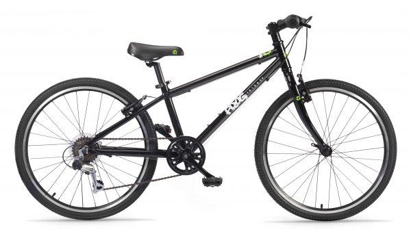 Frog 62, Frog Cykler MTB 62 , Sort Børnecykel, Junior MTB,