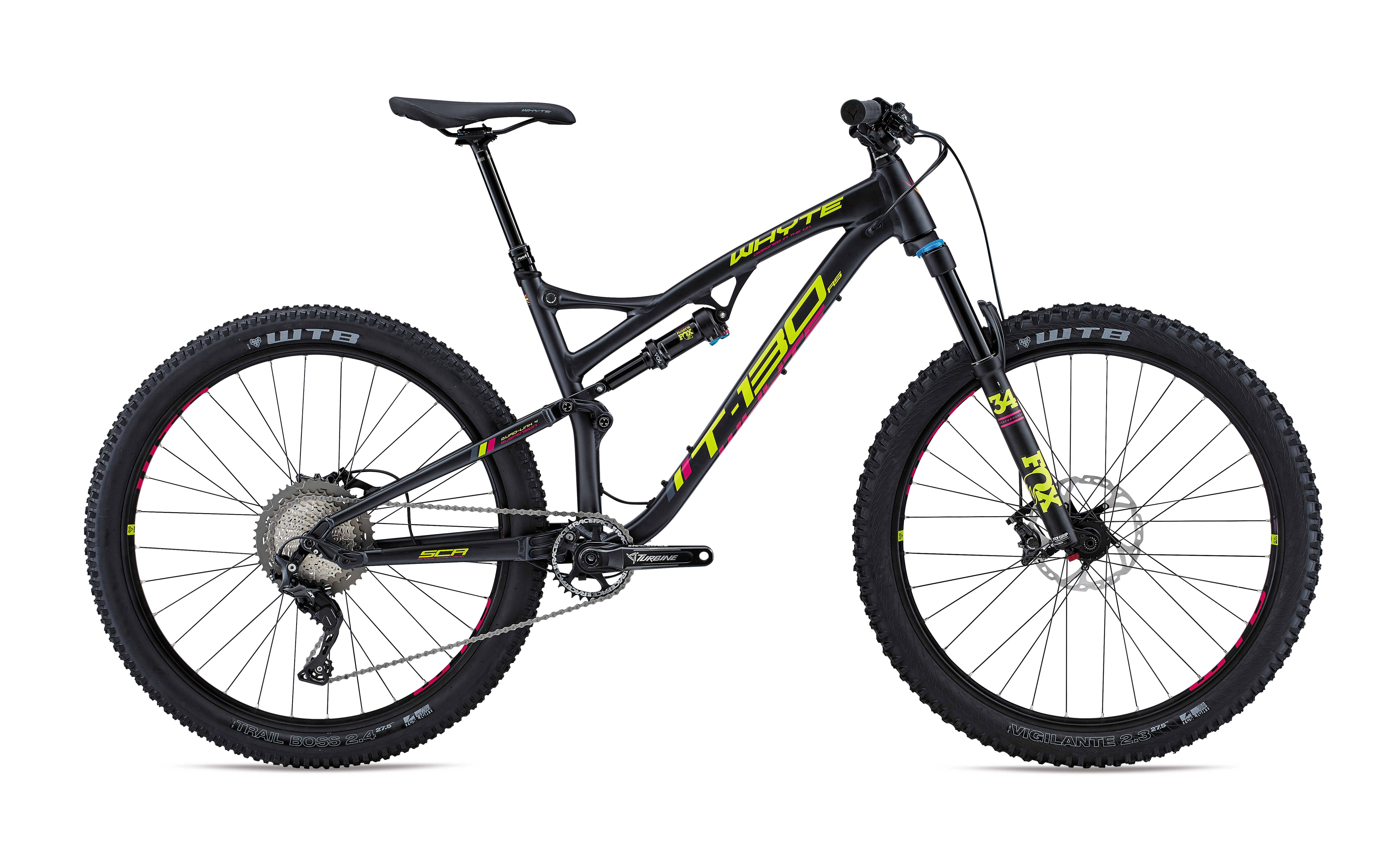 BikeCycles | Whyte T-130 RS 2018 MTB 650b Fullie. Trail. | BikeCycles