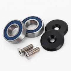 Pivot kit til 224-evolution og Alpine 160 models (frem til 2013), Patriot (2012-13), 322 og 324. Includerer lejer x 2, Dæksel x 2 og bolte x 2. Code:P618SPA
